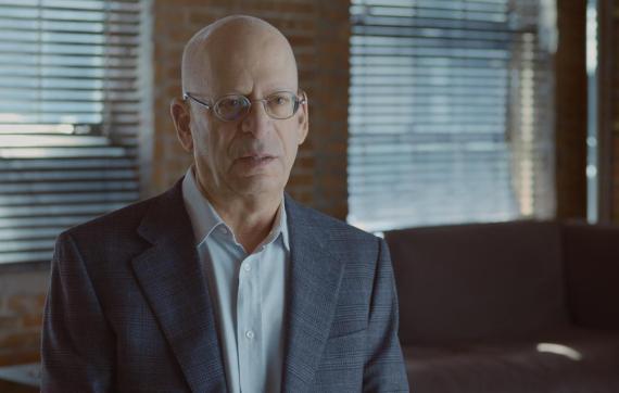 Shel Kaphan, primer trabajador de Amazon, en el documental 'Amazon Empire: The Rise and Reign of Jeff Bezos'.