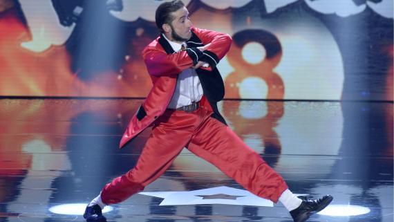 El Tekila, en una de sus actuaciones en Got Talent 2.