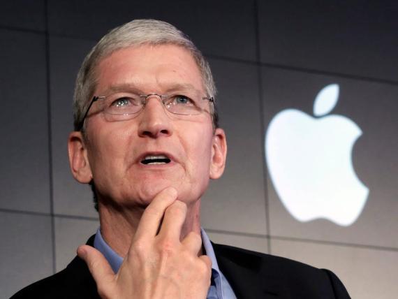 Tim Cook, CEO de Apple.