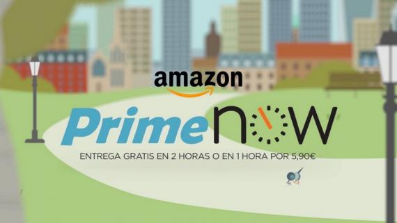 Prime Now: el supermercado de Amazon