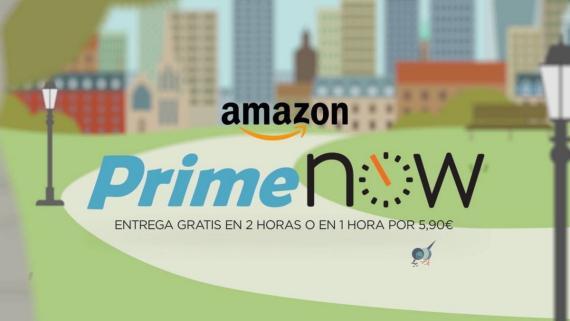 Prime Now: el supermercado de Amazon