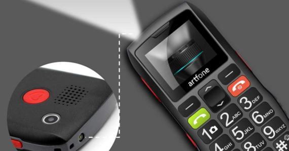 Artfone móvil mayores