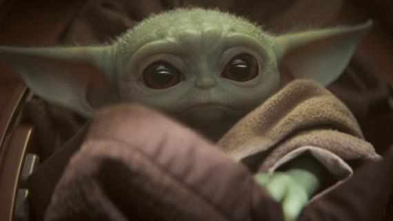 Baby Yoda, uno de los personajes icónicos de El Mandaloriano