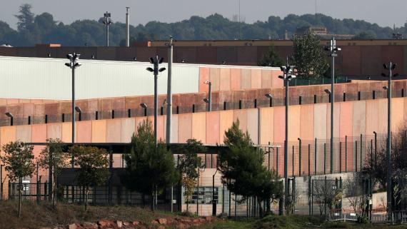 Cárcel de Lledoners, conocida por ser donde cumplen condena los políticos catalanes.