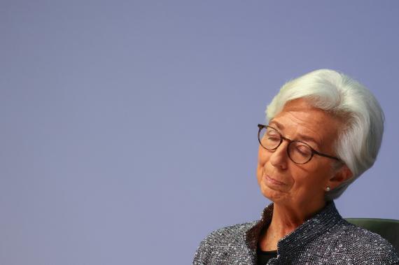 Christine Lagarde, directora del BCE.