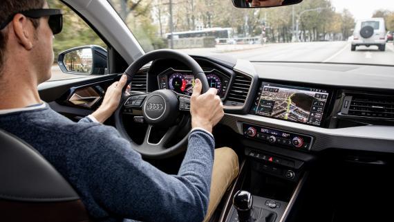 Conduciendo un Audi A1