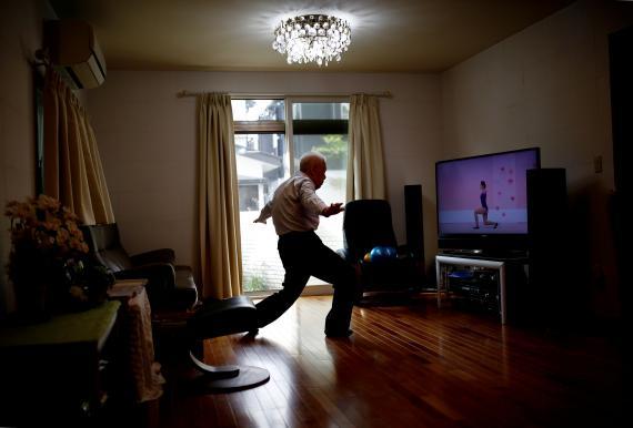 ejercicio, ancianos, tercera edad