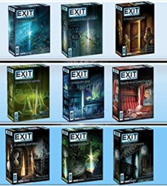 Los mejores juegos de mesa en formato Escape Room