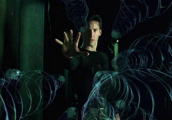 Keanu Reeves en 'Matrix'.
