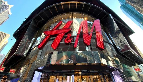 Tienda de H&M en Nueva York