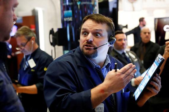 Trader alucina con la reacción del mercado.