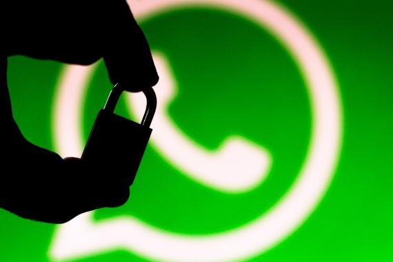 WhatsApp candado seguridad