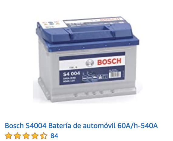 Batería para el coche de Bosch