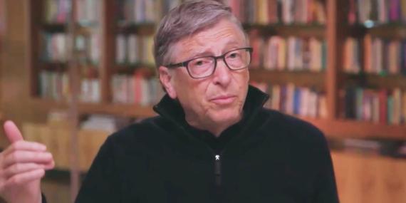 Bill Gates en conversación con el Finantial Times.