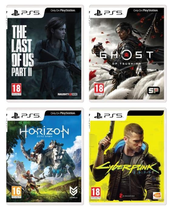 Juegos y accesorios en oferta de PS5