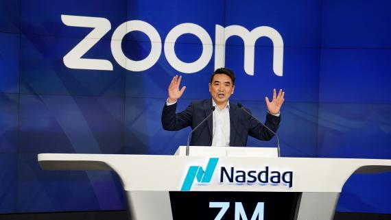 El CEO de Zoom, Eric Yuan.