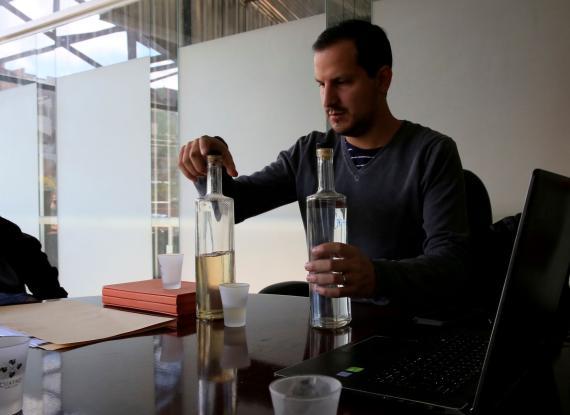 Daniel Lonsdale, general manager de 'Gin La República'.