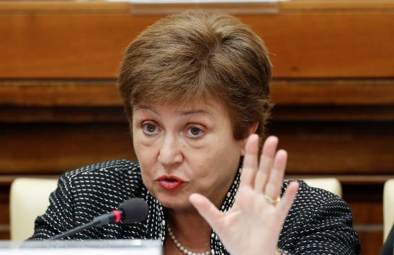 La directora del FMI Kristalina Georgieva