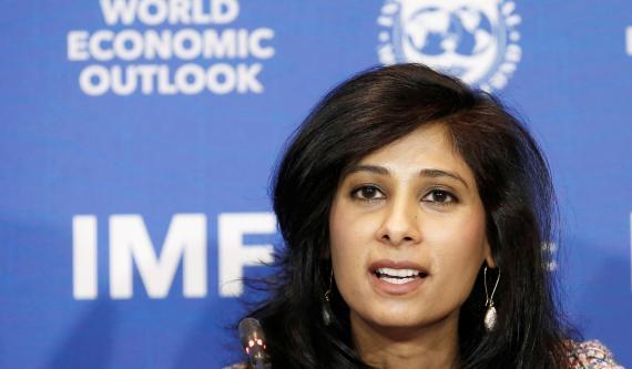 La economista jefe del FMI, Gita Gopinath