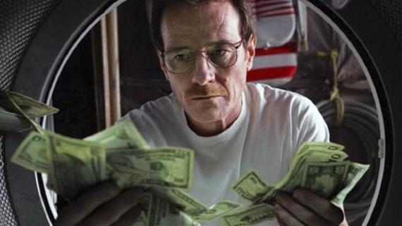 Escena de la serie Breaking Bad.