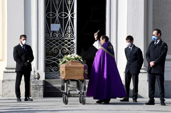 Funeral coronavirus.