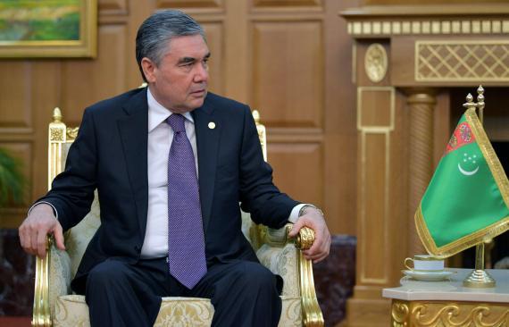 Gurbanguly Berdymukhammedov, presidente de Turkmenistán.