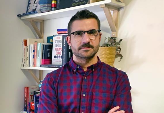 El fundador y CEO de Inspide, Juan José Cabrera.