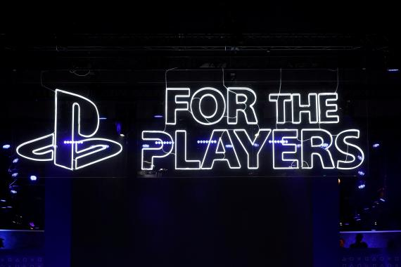 Logo for the players de PlayStation