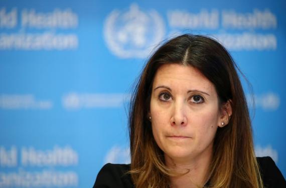 Maria Van Kerkhove, directora técnica de la OMS.