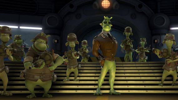 Planet 51, desarrollada por Ilion Animation.