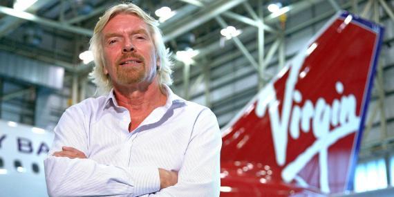 Richard Branson ofrece su isla privada como garantía para salvar a Virgin Atlantic del colapso.