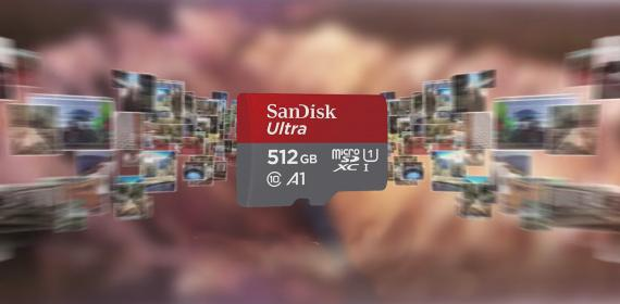 SanDisk - microSD 512Gb