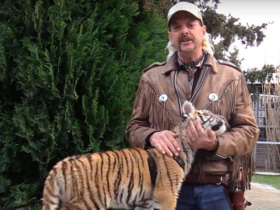 Tiger King, reciente estreno de Netflix.
