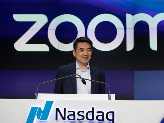 Zoom CEO Eric Yuan.