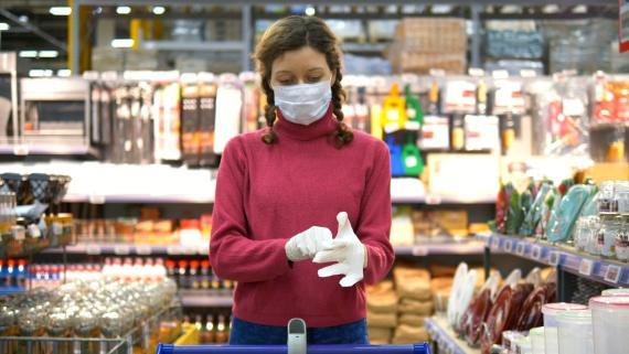 Los alimentos del supermercado, libres de coronavirus, según la OCU