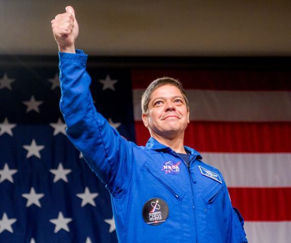 El astronauta Bob Behnken el 3 de agosto de 2018.