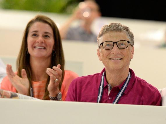 Bill y Melinda Gates.