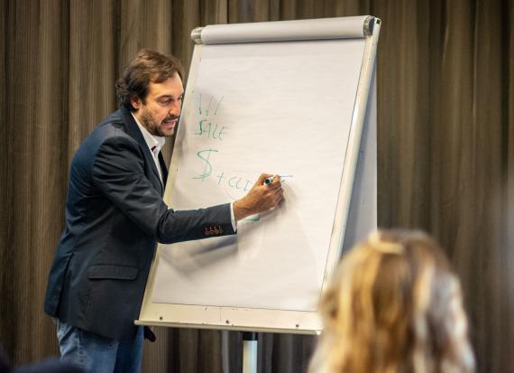 El CEO de Compettia, Juame Juan.