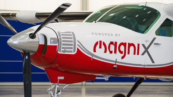 El Cessna Caravan 208 que volará este jueves con motor eléctrico