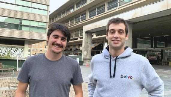Los cofundadores de Belvo, Pablo Viguera y Oriol Tintoré