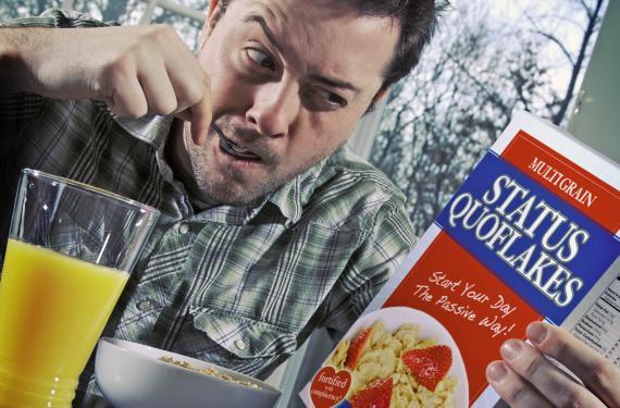 Comiendo cereales