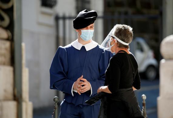 coronavirus mascarilla protector facial