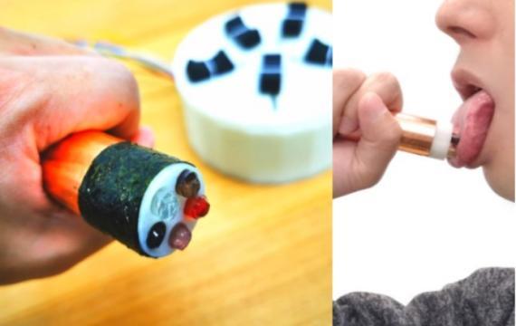 Un dispositivo que recrea virtualmente el sabor.