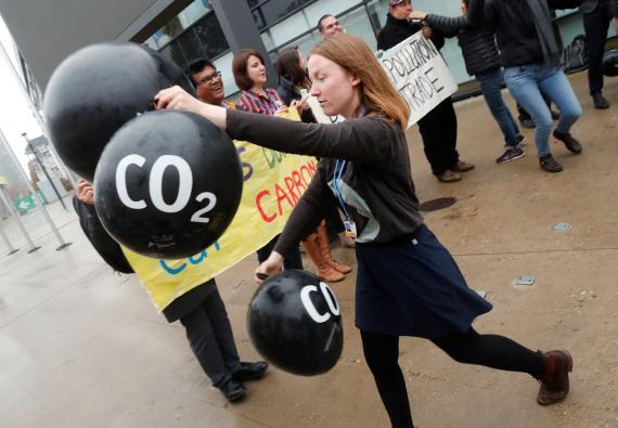 Emisiones de CO2.