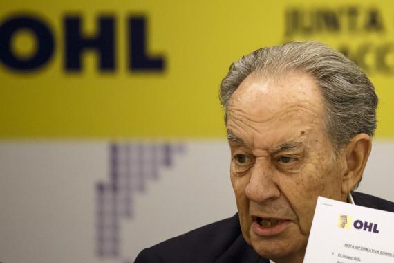 Juan Miguel Villar Mir, presidente del Grupo Villar Mir, prime accionista de OHL.