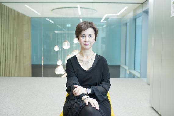 La vicepresidenta de Amazon y 'country manager' en Italia y España, Mariangela Marseglia.
