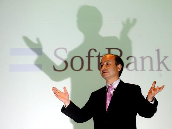 Masayoshi Son, CEO del gigante tecnológico Softbank en una conferencia ante la prensa en Seúl en 2011.
