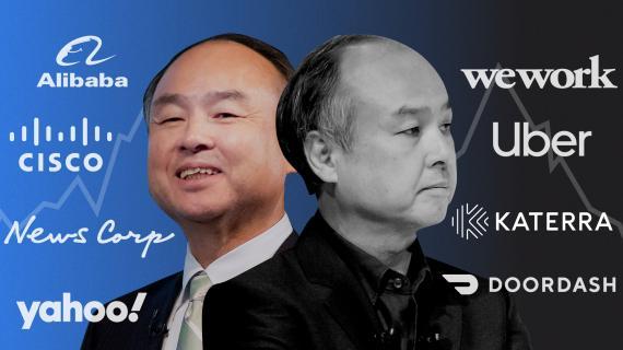 Masayoshi Son, fundador y propietario del grupo SoftBank