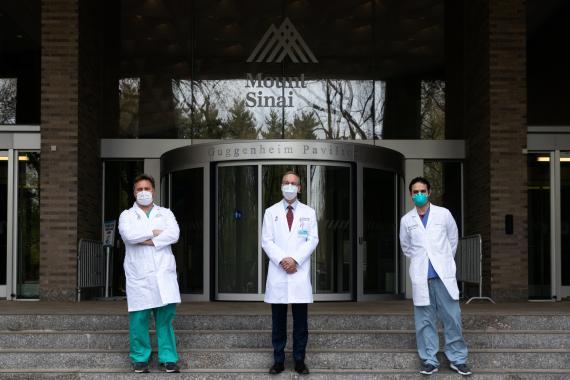 Médicos del hospital Mount Sinai