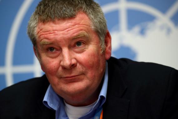 Mike Ryan, director ejecutivo del Plan de Emergencias de la Organización Mundial de la Salud.